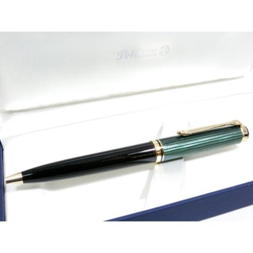 ペリカン PELIKAN SOUVERAN ボールペン K800 グリーン縞 BP