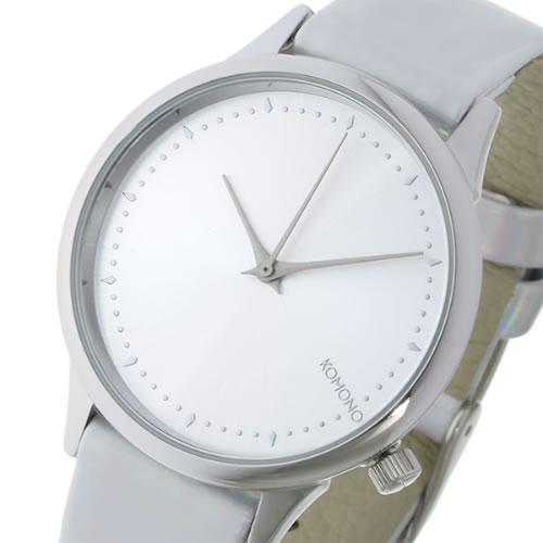 コモノ Estelle Iridescent-Silver クオーツ レディース 腕時計 KOM-W2802 シルバー></a><p class=blog_products_name
