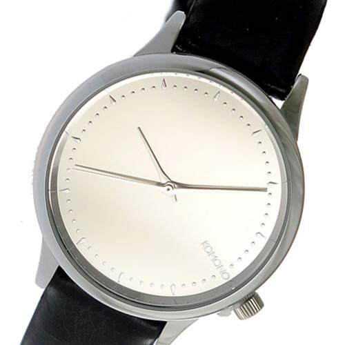コモノ KOMONO クオーツ レディース 腕時計 KOM-W2871 シルバー></a><p class=blog_products_name