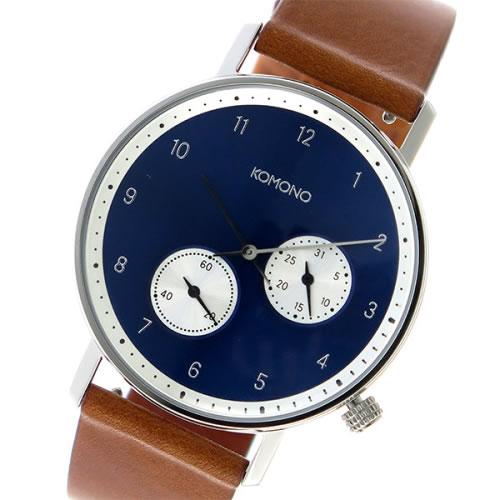 コモノ Walther クオーツ ユニセックス 腕時計 KOM-W4001 ネイビー></a><p class=blog_products_name
