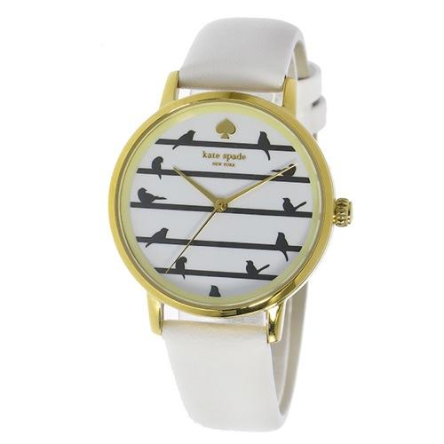 ケイトスペード メトロ レディース 腕時計 KSW1043 ホワイト