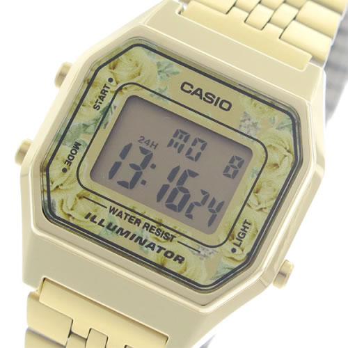 【希少逆輸入モデル】 カシオ クオーツ レディース 腕時計 LA680WGA-4C 液晶/ピンク/ゴールド></a><p class=blog_products_name
