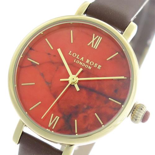 ローラローズ ファイヤーオレンジマグネサイト クオーツ レディース 腕時計 LR2034 オレンジ/ブラウン></a><p class=blog_products_name