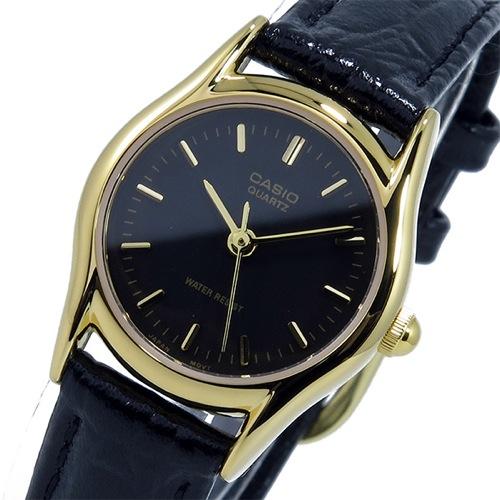 カシオ CASIO クオーツ レディース 腕時計 LTP-1094Q-1A ブラック
