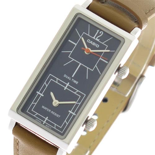 【希少逆輸入モデル】 カシオ CASIO クオーツ ユニセックス 腕時計 LTP-E151L-2B ネイビー/ブラウン></a><p class=blog_products_name