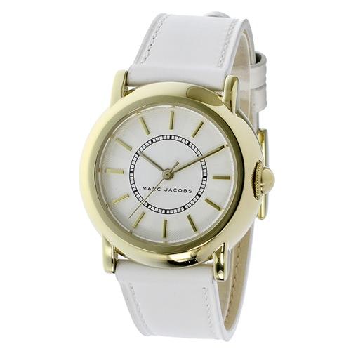 マーク ジェイコブス コートニー クオーツ レディース 腕時計 MJ1449 ホワイト