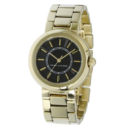 マーク ジェイコブス コートニー クオーツ レディース 腕時計 MJ3468 ブラック