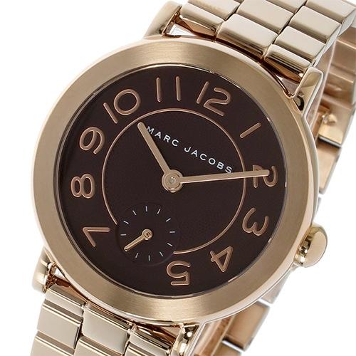 マーク ジェイコブス ライリー クオーツ レディース 腕時計 MJ3489 ボルドー