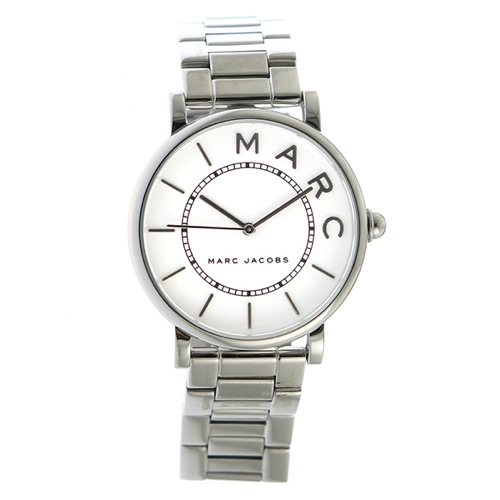 マークジェイコブス クオーツ レディース 腕時計 MJ3521 ホワイト/シルバー></a><p class=blog_products_name