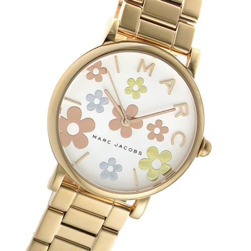 マークジェイコブス クオーツ レディース 腕時計 MJ3580 ホワイト/ピンクゴールド></a><p class=blog_products_name