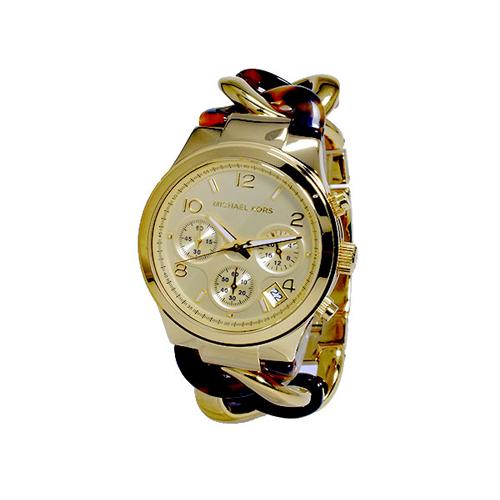 マイケルコース MICHAEL KORS クオーツ レディース クロノグラフ 腕時計 MK4222
