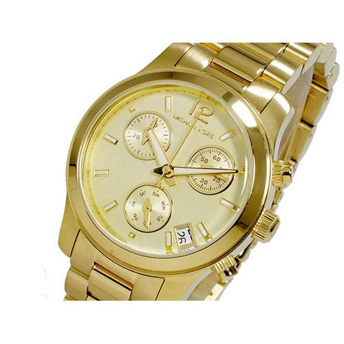 マイケルコース MICHAEL KORS RUNWAY クオーツ レディース クロノグラフ 腕時計 MK5384