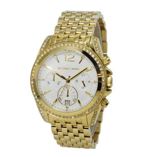 マイケルコース MICHAEL KORS レディース クロノ 腕時計 MK5835 ホワイト