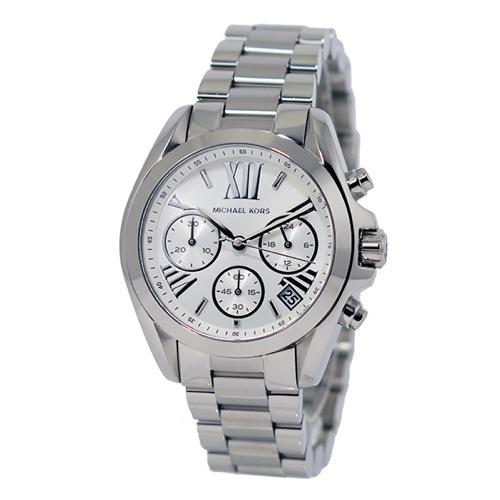 マイケルコース クオーツ クロノ レディース 腕時計 MK6174 ホワイト