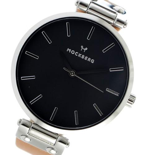 モックバーグ クオーツ レディース 腕時計 MO112 ブラック></a><p class=blog_products_name