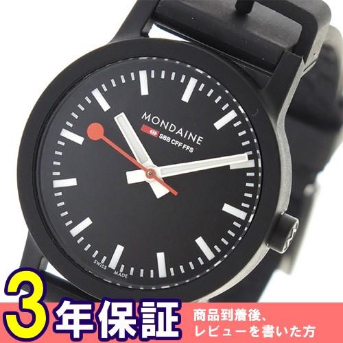 モンディーン クオーツ レディース 腕時計 MS132120RB ブラック