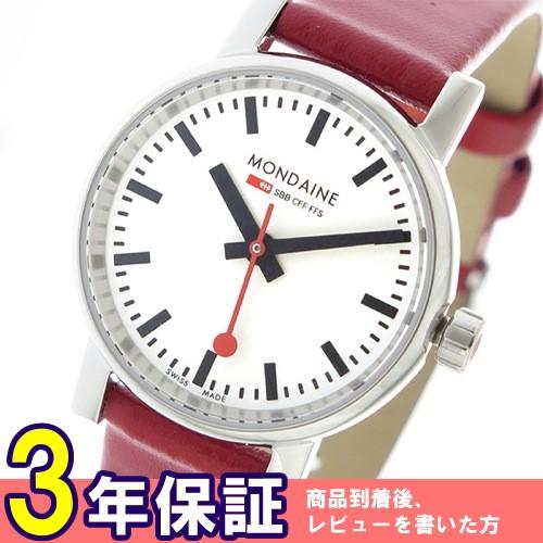 モンディーン エヴォ2 クオーツ レディース 腕時計 MSE26110LC ホワイト