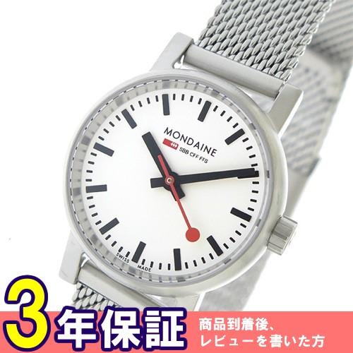 モンディーン エヴォ2 クオーツ レディース 腕時計 MSE26110SM ホワイト