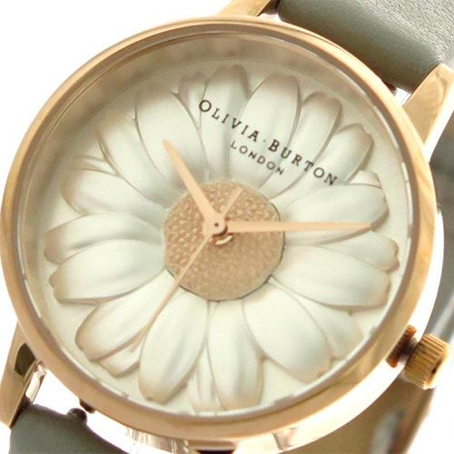 オリビアバートン フラワーショー クオーツ レディース 腕時計 OB15EG50 ホワイト/フラワー