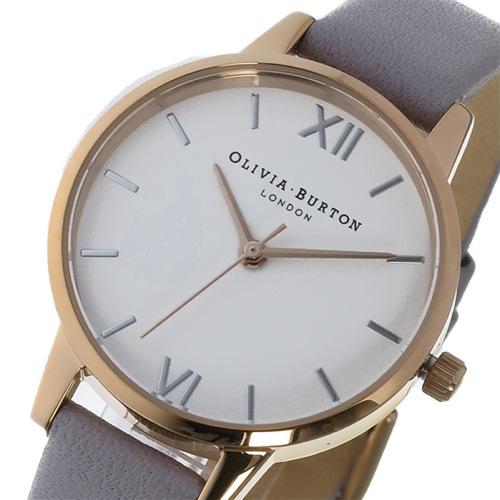 オリビアバートン クオーツ レディース 腕時計 OB16MDW15 ホワイト