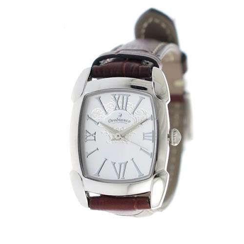 オロビアンコ クオーツ レディース 腕時計 OR-0028-1BRSV シルバー/シルバー></a><p class=blog_products_name