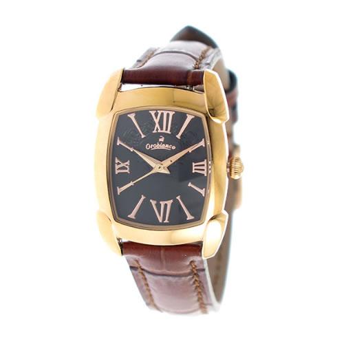 オロビアンコ レディース 腕時計 OR-0028-9BRBK ブラック/ピンクゴールド></a><p class=blog_products_name
