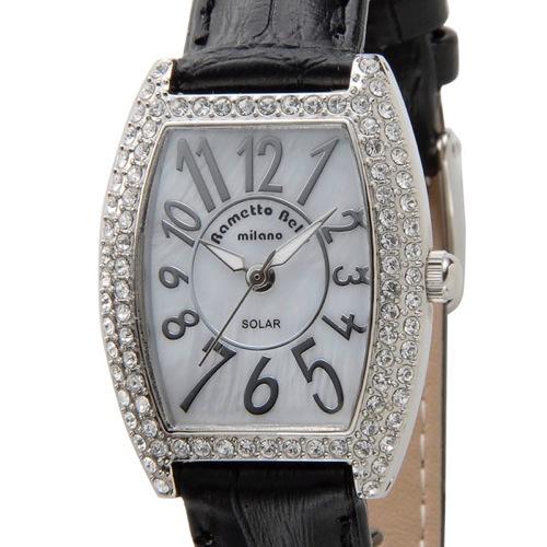 ラメットベリー RAMETTO BELLY ソーラー レディース 腕時計 RAB2860LBK ブラック