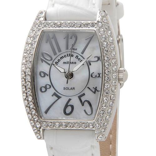 ラメットベリー RAMETTO BELLY ソーラー レディース 腕時計 RAB2860LWH ホワイト