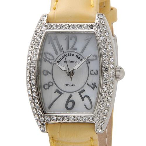 ラメットベリー RAMETTO BELLY ソーラー レディース 腕時計 RAB2860LYE イエロー