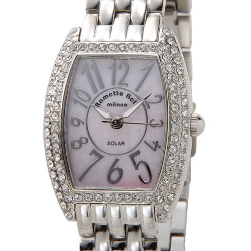 ラメットベリー RAMETTO BELLY ソーラー レディース 腕時計 RAB2860SSPK ピンク