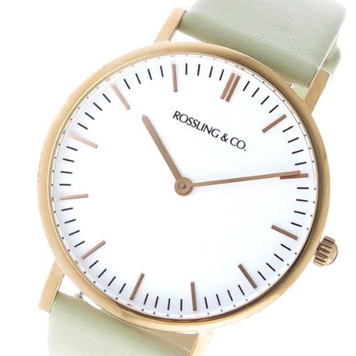 ロスリング CLASSIC 36MM Pistachio クオーツ ユニセックス 腕時計 RO-005-008 クリーム/ホワイト></a><p class=blog_products_name
