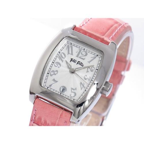 フォリフォリ クオーツ レディース 腕時計 S922-SVPK シルバー/ピンク
