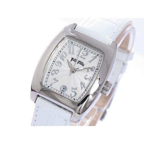 フォリフォリ クオーツ レディース 腕時計 S922-SVWH シルバー/ホワイト