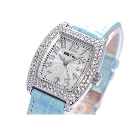 フォリフォリ FOLLI FOLLIE 腕時計 S922ZI SLV/LBU