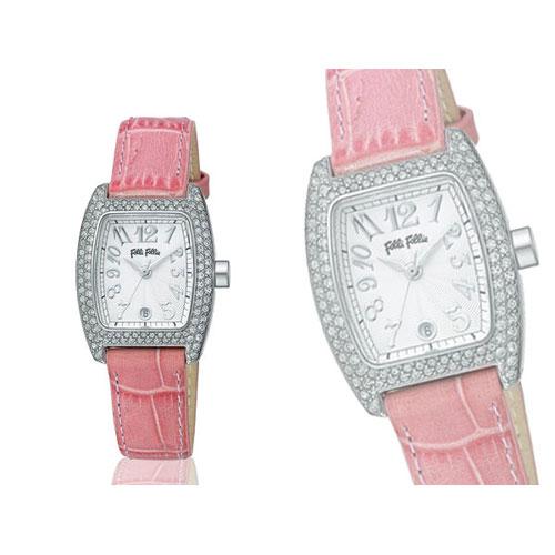 フォリフォリ FOLLI FOLLIE 腕時計 S922ZI SLV/PINK
