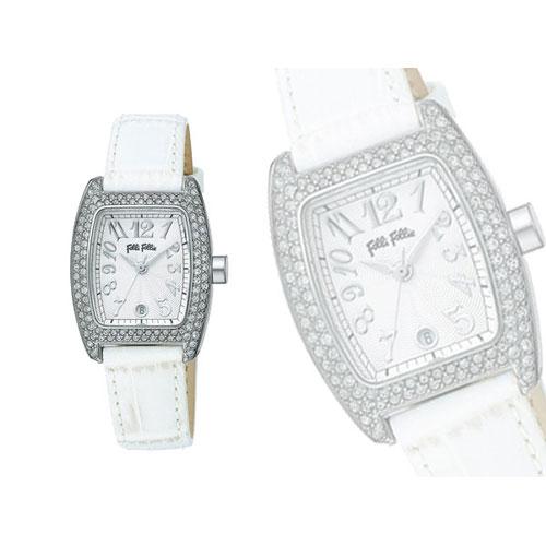 フォリフォリ FOLLI FOLLIE 腕時計 S922ZI SLV/WHT