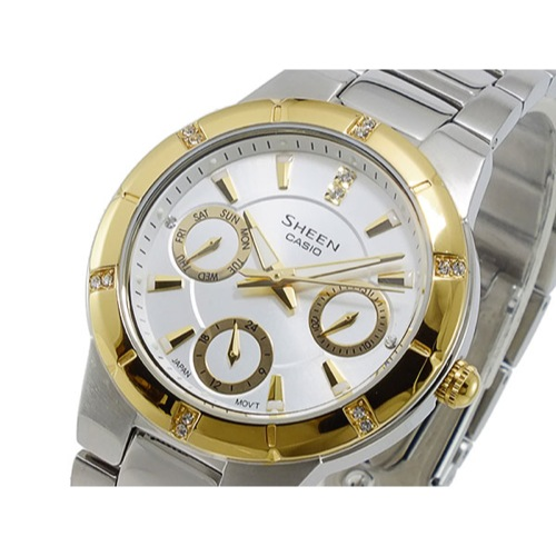カシオ CASIO シーン SHEEN クオーツ レディース 腕時計 SHE-3800SG-7A