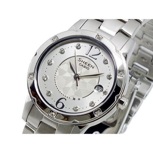 カシオ CASIO シーン SHEEN クオーツ レディース 腕時計 SHE-4021D-7A