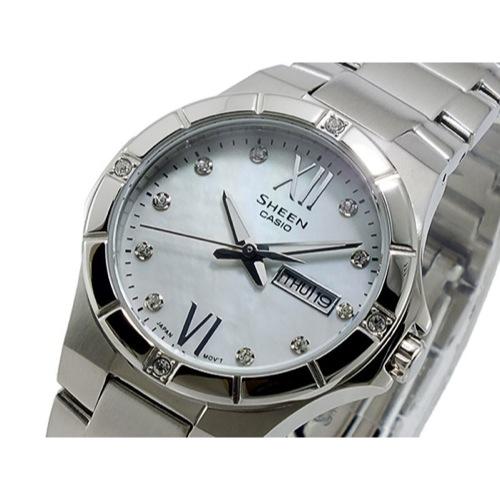 カシオ CASIO シーン SHEEN クオーツ レディース 腕時計 SHE-4022D-7A