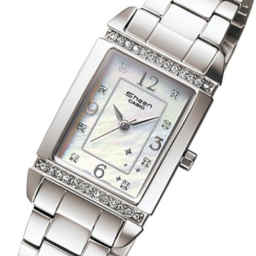 カシオ CASIO シーン SHEEN レディース クオーツ 腕時計 SHN-4016D-7A シェル
