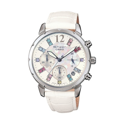 カシオ CASIO シーン SHEEN クロノグラフ 腕時計 SHN5012LP-7A