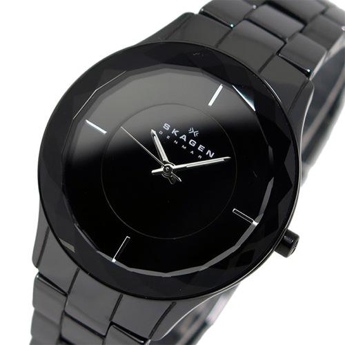 スカーゲン SKAGEN クオーツ レディース 腕時計 SKW2067 ブラック