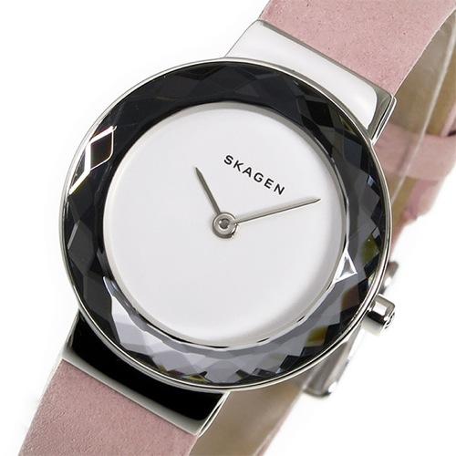 スカーゲン SKAGEN レオノーラ クオーツ レディース 腕時計 SKW2425 ピンク
