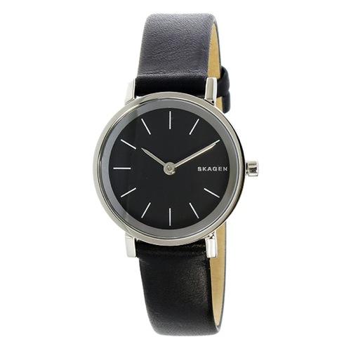 スカーゲン SKAGEN ハルド HALD クオーツ レディース 腕時計 SKW2442 ブラック