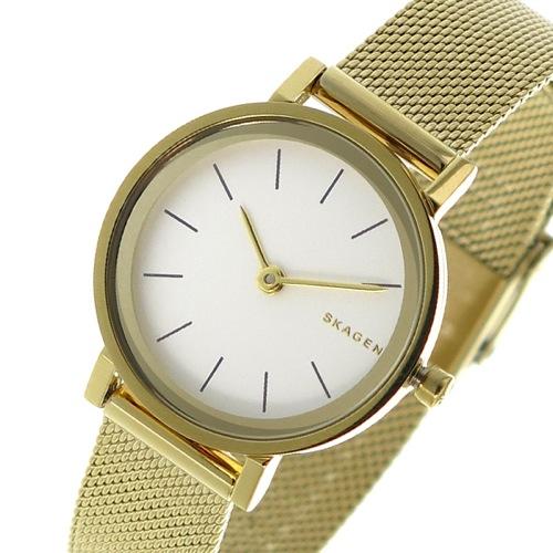 スカーゲン クオーツ レディース 腕時計 SKW2443 ホワイトシルバー></a><p class=blog_products_name