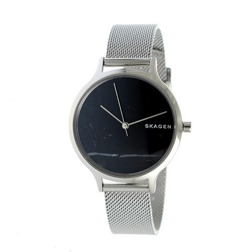 スカーゲン アニータ クオーツ レディース 腕時計 SKW2673 ブラック