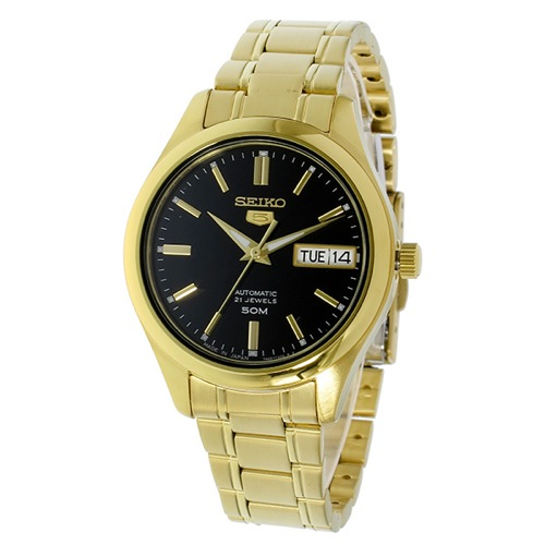 セイコー セイコー5 5 自動巻き レディース 腕時計 SNK874J1 ブラック