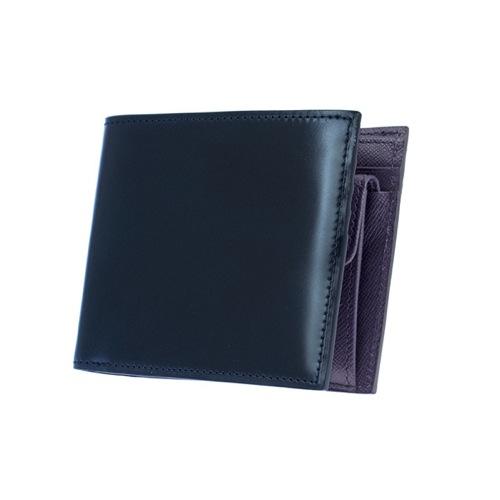 ゾンネ SONNE 二つ折り短財布 レディース SOC011RE-NVY ネイビー