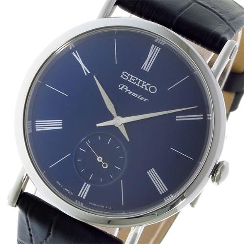 セイコー プルミエ クオーツ ユニセックス 腕時計 SRK037P1 ネイビー></a><p class=blog_products_name