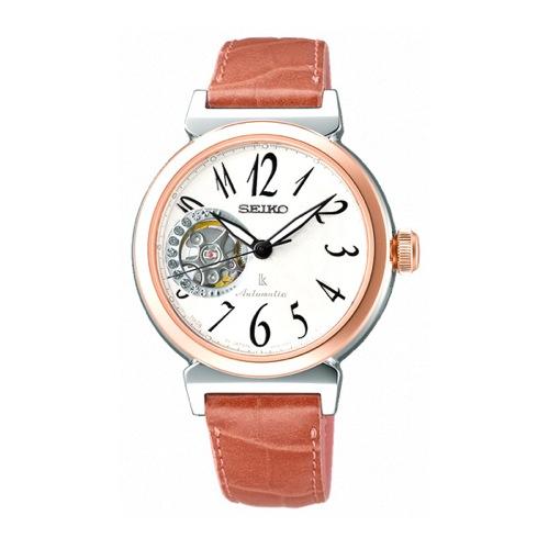 セイコー SEIKO ルキア 自動巻き レディース 腕時計 SSVM008 ホワイト 国内正規